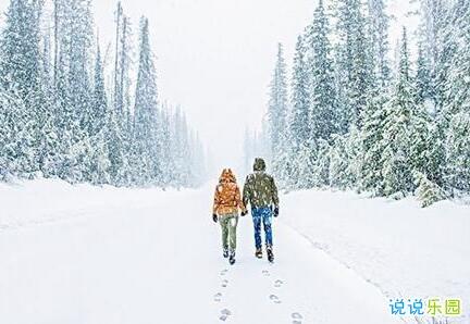 下雪的句子经典句子 适合下雪的句子发抖音